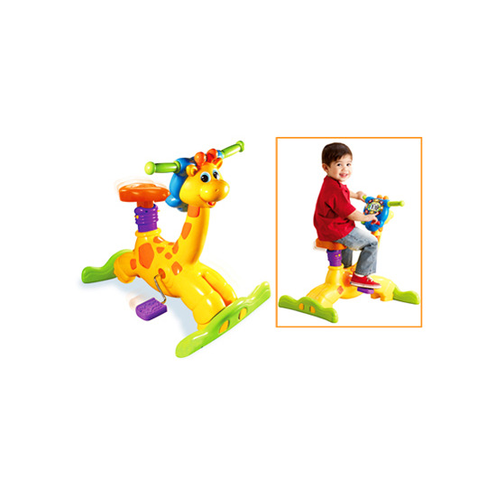 VTech Animal Fun Bounce and Ride Giraffe