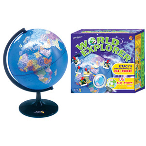 Photo of World Explorer 28CM Geographical Globe Toy