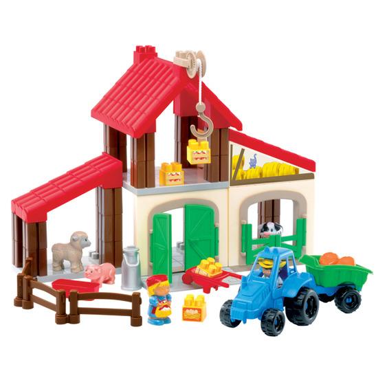 Ecoiffier abrick Farm Play Set