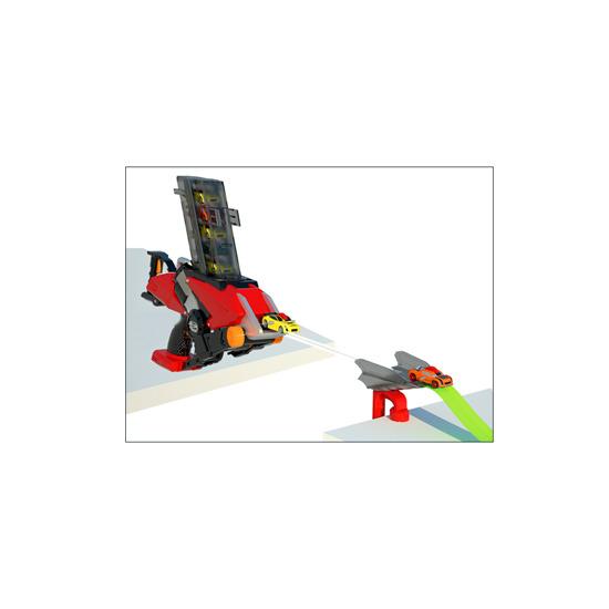 GX Racers Mega Launcher Track Set