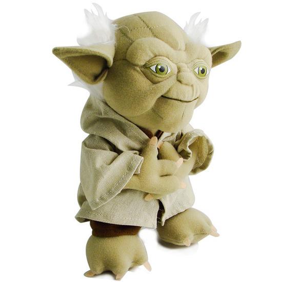 """Gadgetshop Star Wars 9"""" Talking Yoda"""
