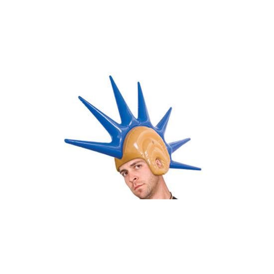 Inflatable Mohican Wig