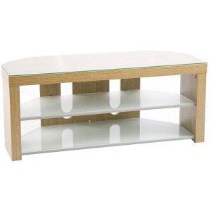Photo of Iconic Kara 1060-Light Oak TV Stands and Mount