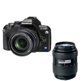 Olympus E-450 with 14-42mm and 40-150mm lenses Reviews