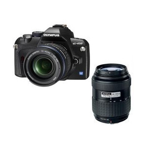 Photo of Olympus E-450 With 14-42MM and 40-150MM Lenses Digital Camera