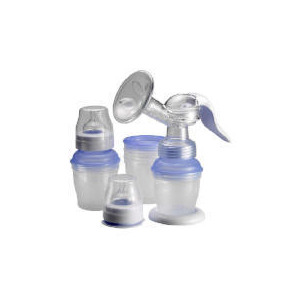 Photo of Avent Isis Breast Pump Via Feeding System Baby Bottles and Feeding