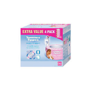 Photo of Tommee Tippee Nappy Wrapper Refill Pack Baby Product