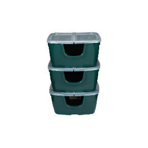 Photo of Strata Recycling Crates 3PACK Household Storage