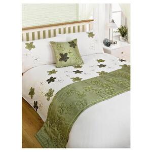 Photo of Bedcrest Bed In A Bag Maraba Green Double Bed Linen