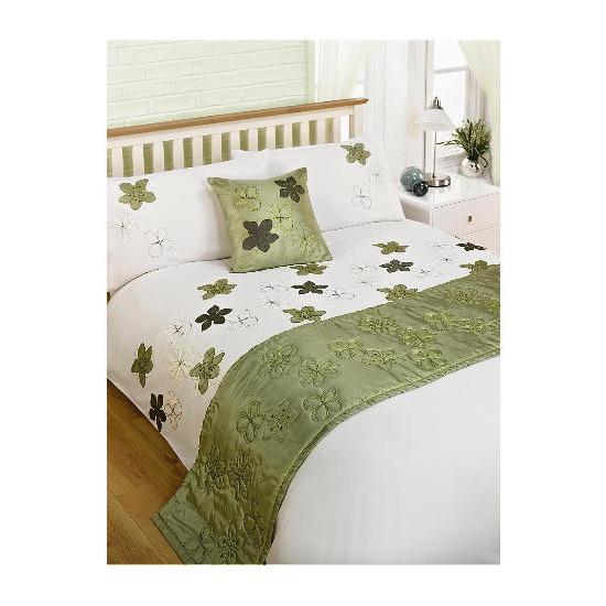Bedcrest Bed in a Bag Maraba Green Double