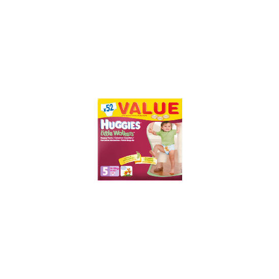 Huggies Little Walkers Size 5 Value Box (x52)