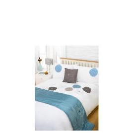 Bedcrest Bed in a Bag Eva Teal King Reviews