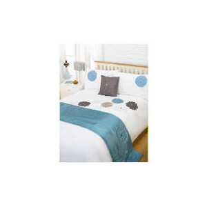 Photo of Bedcrest Bed In A Bag Eva Teal King Bedding
