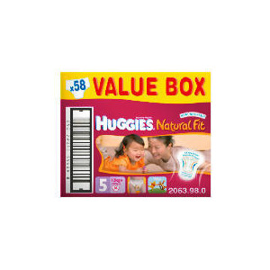 Photo of Huggies Natural Fit Size 4 Value Box (X64) Baby Product