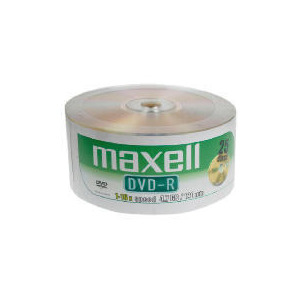 Photo of Maxell DVD-R 25 Pack DVD R