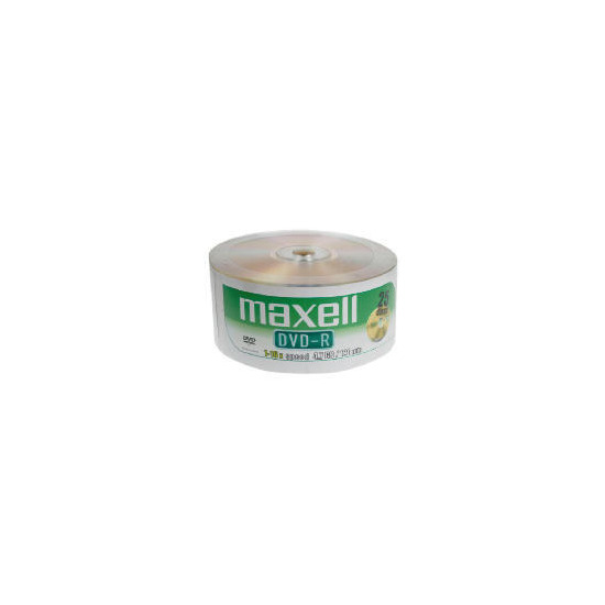 Maxell DVD-R 25 Pack