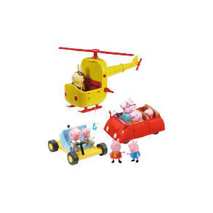 Photo of Peppa Pig Exclusive Multi Vehicle Set Toy