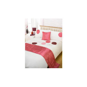 Photo of Bedcrest Bed In A Bag Eva Mulberry Double Bed Linen