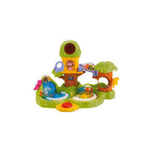 Photo of Fisher-Price Roll Around Jungle Treehouse Toy