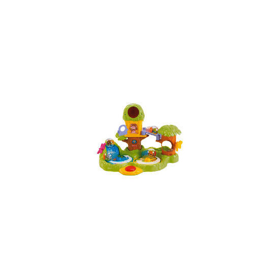 Fisher-Price Roll Around Jungle Treehouse