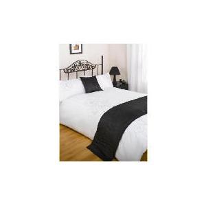 Photo of Bedcrest Bed In A Bag Bold Floral Black King Bed Linen
