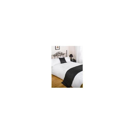 Bedcrest Bed in a Bag Bold Floral Black King