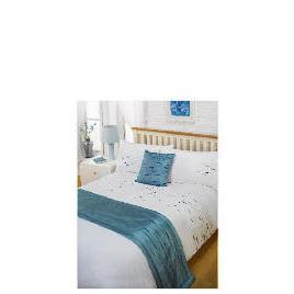 Bedcrest Bed in a Bag Aspen - Teal Double Reviews