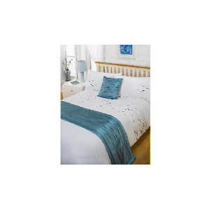 Photo of Bedcrest Bed In A Bag Aspen - Teal Double Bedding