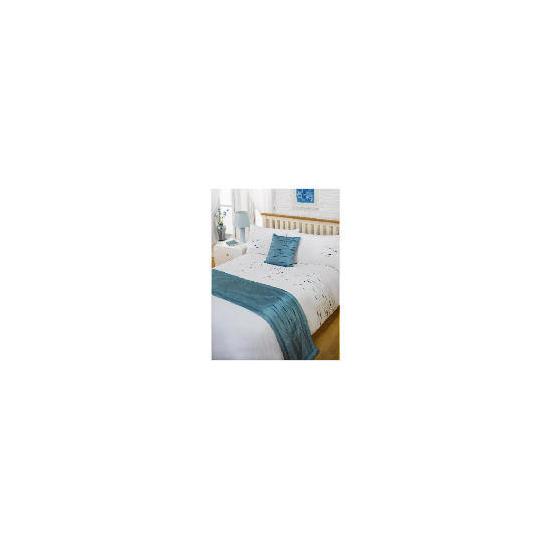Bedcrest Bed in a Bag Aspen - Teal Double