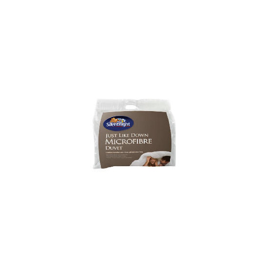 Silentnight Microfibre 10.5 tog - double