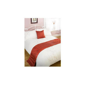 Photo of Bedcrest Bed In A Bag Bold Floral Red King Bed Linen