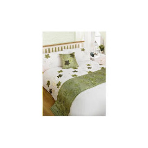 Photo of Bedcrest Bed In A Bag Maraba Green King Bedding