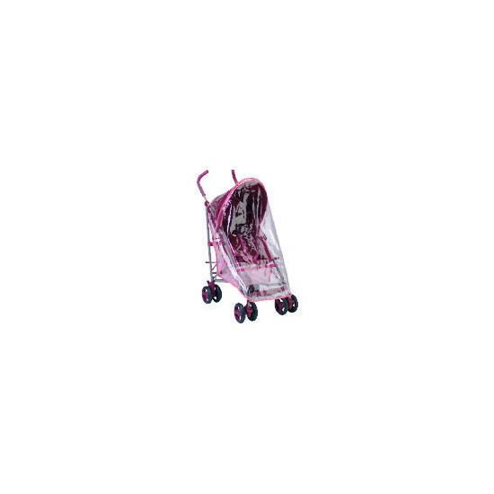 Tesco Lola Stroller Pink With Accessories