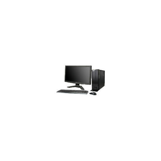 """Acer Aspire X1300 7450 Desktop and 19"""" PC Monitor"""