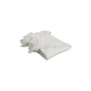 Photo of Tesco Boucle Throw 125X150CM, Natural Cushions and Throw
