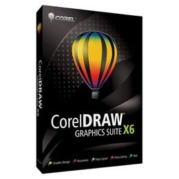CorelDRAW Graphics Suite X6 - Upgrade