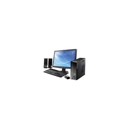 Acer Aspire X3200 7450 with X193HQB monitor