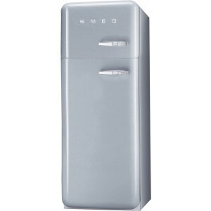 Photo of Smeg FAB30YX 50's Retro Style (Silver + Left Hinge) Fridge Freezer