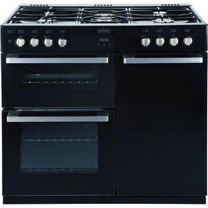 Photo of Belling 90CM Dual Fuel Range Cooker - Black Cooker