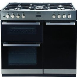 Belling 90cm Dual Fuel Range Cooker St/St Reviews