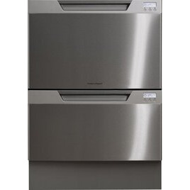 Fisher & Paykel Double Dish Drawer EZKleen St/Steel Reviews