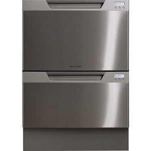 Photo of Fisher & Paykel Double Dish Drawer EZKLEEN ST/Steel Dishwasher