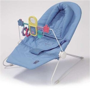 Photo of Rocking Cradle - Blue Baby Product
