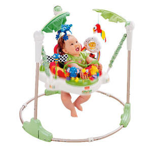 Photo of Fisher Price Rainforest Jumperoo Bouncer Toy