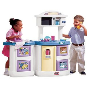 Photo of Little Tikes Double Up Kitchen & Laundry Centre Toy