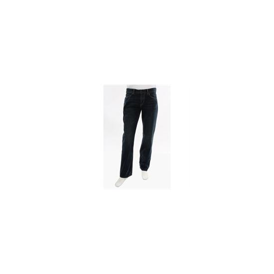 One true saxon jeans - long leg mid wash