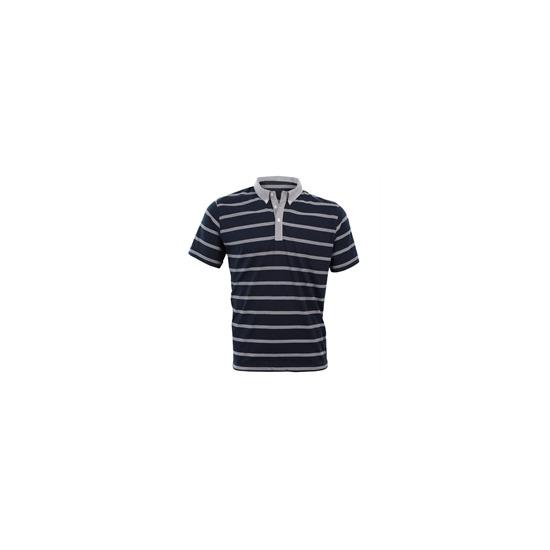 Peter Werth Navy Stripe Polo