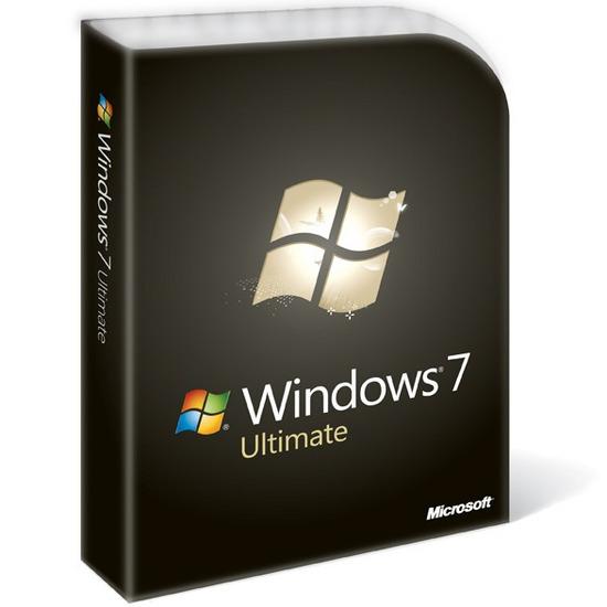Microsoft Windows 7 Ultimate (Full Version)