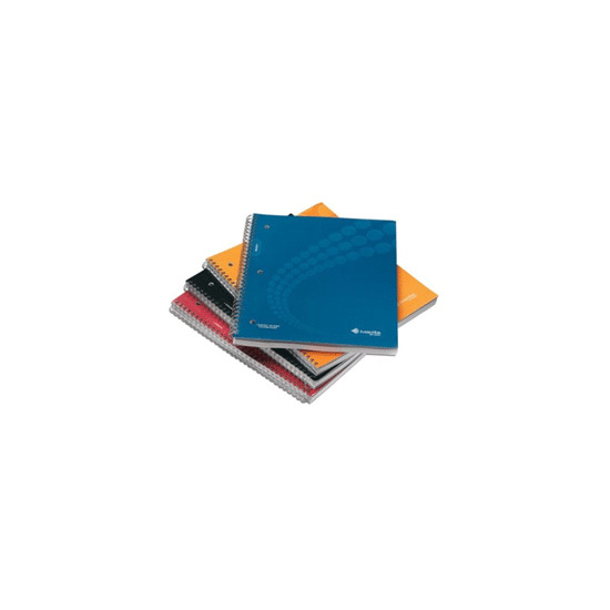 A4 Single Subject Lined Notebooks 4 Pack