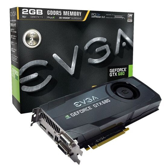 EVGA GeForce GTX 680 SC